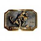 Pendleton Heritage Mint Solid Brass Vintage 1980 Belt Buckle