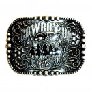 Cowboy Up Posse Montana Silversmiths Belt Buckle