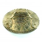 States Of America ADM Award Design Solid Brass Belt Buckle
