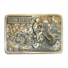 Dirt Bikin' Vintage Bergamot Brass Works US Belt Buckle