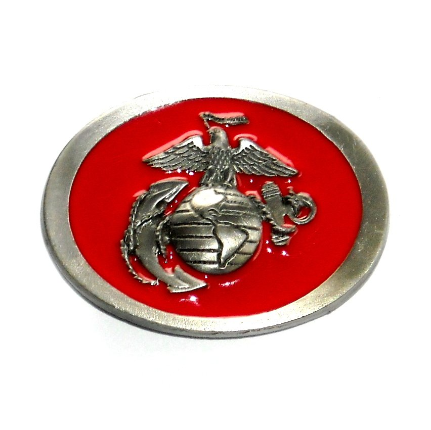United States Marine Corps Semper Fidelis C&J Color US Belt Buckle