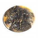 Thor Vikings Norse Gods 3D Bergamot Bronze Color US Belt Buckle
