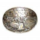 Kansas State Seal ADM First Edition Award Design Brass Belt Buckle
