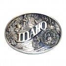 Idaho First Edition State Seal ADM Award Design Brass Belt Buckle