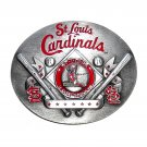 St Louis Cardinals Siskiyou MLB Limited Edition Bergamot US Belt Buckle