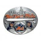 New York Mets Siskiyou MLB Limited Edition Bergamot US Belt Buckle