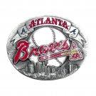 Atlanta Braves Siskiyou MLB Limited Edition Bergamot US Belt Buckle