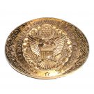 The United States Of America Award Design ADM Solid Brass Belt Buckle