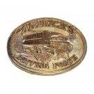 America's Driving Force Award Design ADM Solid Brass Vintage Belt Buckle