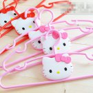 4pcs x Sanrio Hello Kitty Hangers (Red/ Pink) Kids Xmas Birthday Party Gift