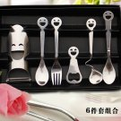 Smile Spoon Fork Stainless Steel Meal Set Xmas Birthday Mother Day Gift