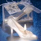 10pcs x White High Heel Shoes Wedding Candle Party Gift