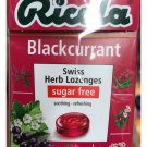 (Pack of 6) Ricola Swiss Herb Lozenges Sugar Free Blackcurrant Flavour Candy 45g