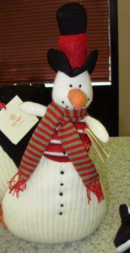GUND HANDKNIT SNOWMAN COUNTDOWN TO CHRISTMAS COLLECTION NEW RETIRED PLUSH