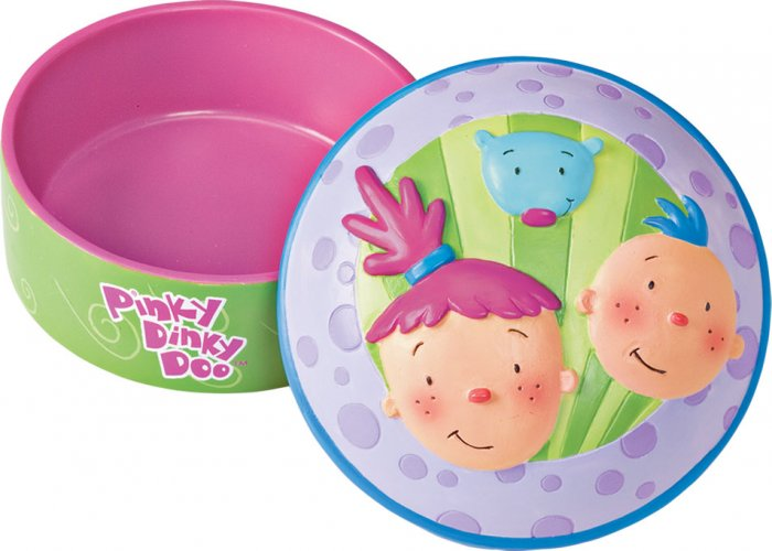 PINKY DINKY DOO TRINKET BOX NEW GUND CERAMIC LOOKS LIKE A CUPCAKE
