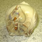 CHICKEN FIGURINE GLAZED CERAMIC HOME KITCHEN DECOR NEW CBK