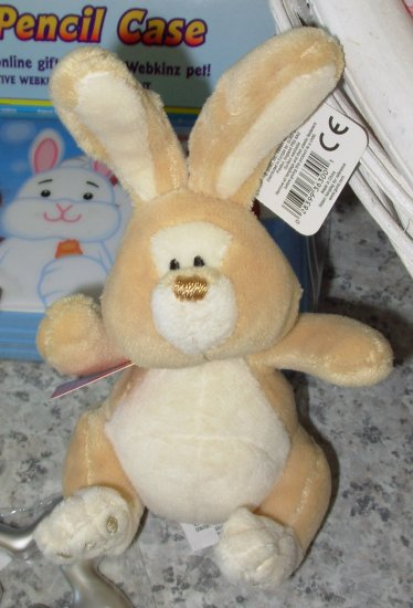 GUND JUST A BUNNY MUSICAL SOUND TOY PLUSH STUFFED ANIMAL GUND NEW WITH ORIGINAL TAGS