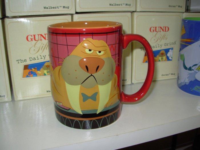 GUND DAILY GRIND WALBERT MUG TALK TO THE TUSKS FUNNY NEW CERAMIC COFFEE MUG