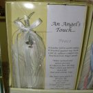 ANGEL TOUCH FEATHER AND DOVE CHARM WALL HANGING ENCORE NEW FOR PEACE