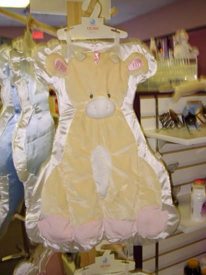 GUND CUDDLEHUGS GIRAFFE TENDER BEGINNINGS BLANKET WALL HANGING PINK NEW WITH ORIGINAL TAGS GUND BABY