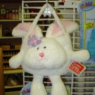 GUND BUNNY PURSE LITTLE WHITE BUNNY RABBIT PURSE NEW WITH ORIGINAL TAGS RETIRED GUND KIDS