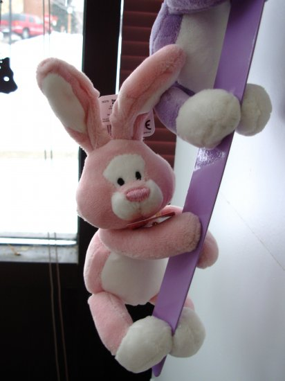GUND MAGNATUDE EGGCELLENT BUNNY PINK PLUSH COLLECTIBLE NEW EASTER MAGNET ANIMAL