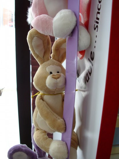 GUND MAGNATUDE EGGCELLENT EASTER BUNNY TAN COLLECTIBLE NEW MAGNET ANIMAL PLUSH