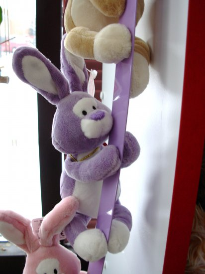 GUND MAGNATUDE EGGCELLENT BUNNY LAVENDER COLLECTIBLE NEW EASTER MAGNET ANIMAL PLUSH