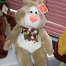 GUND 14 INCH CARLYLE BUNNY RABBIT STUFFED PLUSH ANIMAL GUND NEW WITH ORIGINAL TAGS