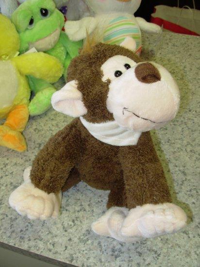 SAMMY PLUSH STUFFED ANIMAL MONKEY NEW WITH TAGS GANZ TOY CHIMPANZEE
