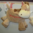 NURSERY DECOR LITTLE HORSE DOOR HANGER SAYS HORSING AROUND NEW WITH TAGS GANZ BABY NURSERY DECOR