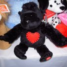 GORILLA PLUSH STUFFED ANIMAL GORGEOUS GILBERT SINGS LOVE MACHINE NEW VALENTINES TOY GANZ