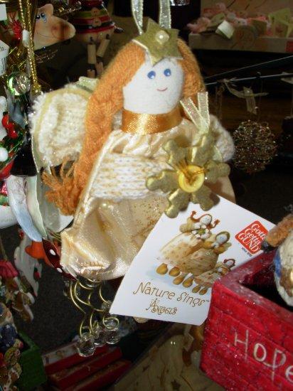 GUND NATURE SINGS ANGELS CHRISTMAS ORNAMENTS BY ARTIST CHERYL ANN JOHNSON RETIRED NEW