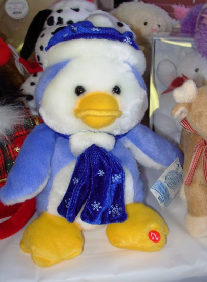 ANIMATED PARKER PENQUIN DANCES SINGS LIGHTS UP PLUSH STUFFED ANIMAL GANZ NEW WITH TAGS