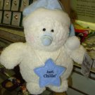 "SNOWMAN WINTER GREETINGS ""JUST CHILLIN"" PLUSH STUFFED SNOWMAN NEW GANZ"