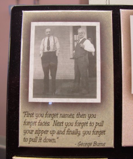 REFRIGERATOR MAGNET QUOTE BY GEORGE BURNS NEW FUNNY