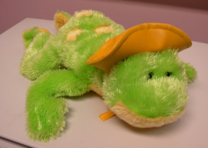 FROG PUDDLE HOPPER SINGING PLUSH STUFFED ANIMAL SINGS AINT GONNA RAIN NO MORE NEW WITH TAGS  GANZ