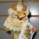 NATURE SINGS ANGEL CHRISTMAS ORNAMENT CREATED BY SWEET HOME DESIGNED BY CHERYL ANN JOHNSON NEW GUND