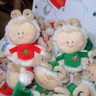 GUND PERSONALIBEES GIGGLERS CHRISTMAS PLUSH STUFFED DOLL GIGGLES WHEN SQUEEZED NEW