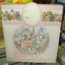 BABY ALBUM BRAG BOOK BABYS FIRST MOMENTS BY JOHN GROSSMAN FOR GUND BABY NEW IN GIFT BOX