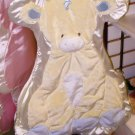 GUND CUDDLEHUGS TENDER BEGINNINGS GIRAFFE BLANKET WALL HANGING BLUE NEW WITH TAGS GUND BABY
