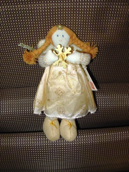 NATURE SINGS ANGELS CHRISTMAS ORNAMENT CREATED BY SWEET HOME DESIGNED BY CHERYL ANN JOHNSON NEW GUND