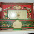 GUND CHRISTMAS COLLECTION HORIZONTAL PICTURE FRAME NEW IN BOX RETIRED