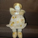 GUND NATURE SINGS GOLD ANGEL DOLL CREATED BY SWEET HOME NEW RETIRED