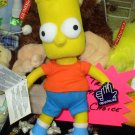 BART SIMPSON BEANBAG DOLL NEW RUSS BERRIE APPLAUSE TOY THE SIMPSONS TV CHARACTER