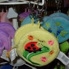 COIN PURSE BUMBLE BUGS YELLOW NEW GANZ KIDS ADULTS KEY CLIPS
