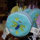 COIN PURSE BUMBLE BUGS LIGHT BLUE NEW GANZ KIDS ADULTS KEY CLIPS