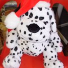 DJ JINGLES RUSS BERRIE DALMATION DOES DJ VERSION OF JINGLE BELLS NEW PLUSH STUFFED ANIMAL