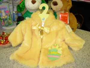 BABY HALLOWEEN OR EASTER COSTUME YELLOW DUCKIE DUCK WITH RATTLE NEW GUND BUNSY 3-12 MO.