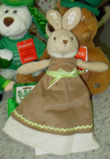 GUND REVERSIBLE LARABELL PLUSH BUNNY RABBIT STUFFED ANIMAL EASTER PARADE COLLECTION NEW